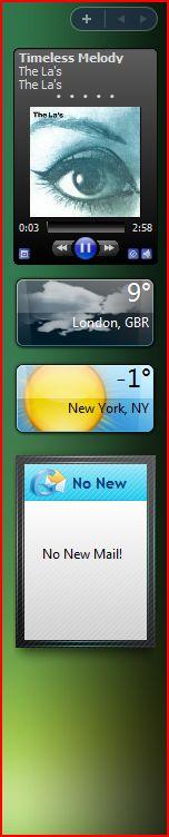 Cool widgets inVista