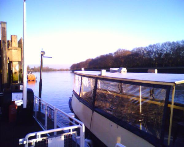 The ferry at Putney