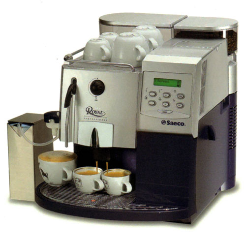 coffee machine with one of those coffee bean compartments which normally bodes badly