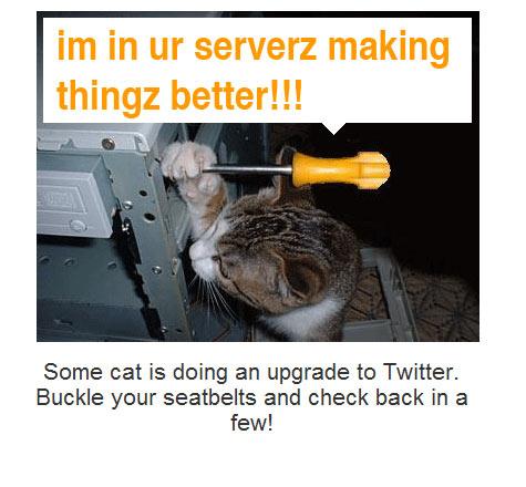 "Twitter ""plannedmaintenance"""