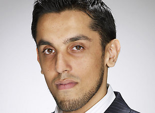"Tre Azam from the Apprentice. Self-styled ""branding consultant""."