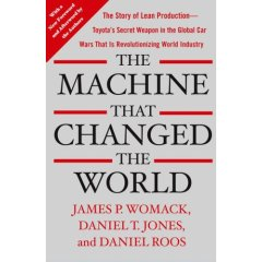 Machine that changed the world (bookcover)