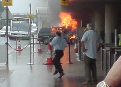 Bombing at Glasgow airport