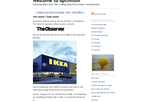 Welcome to Optimism (W+K London)