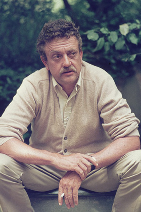 The late, great Kurt Vonnegut