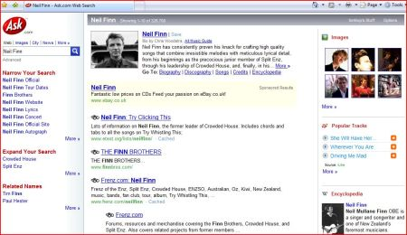 Ask.com - structured search results for Neil Finn