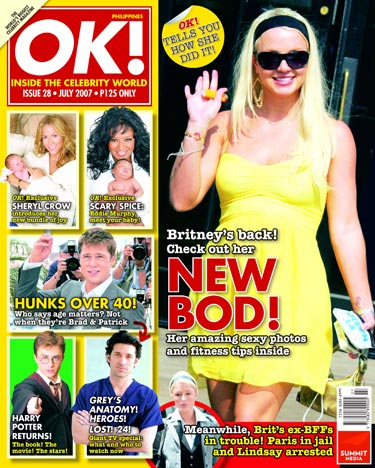 OK magazine cover