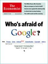 Economist cover - Google